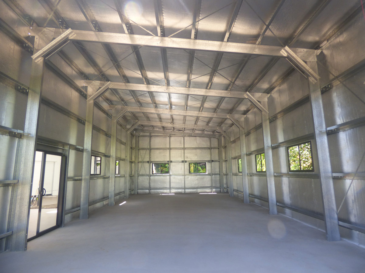 Stud Frame Buildings Shed Alliance Brisbane